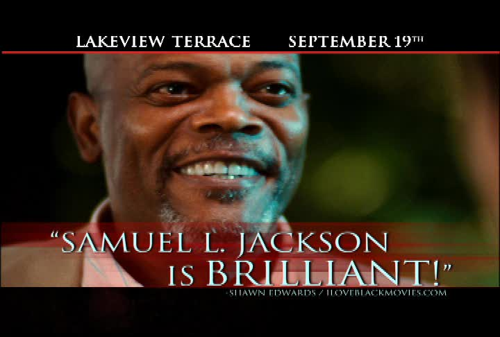 Watch the newest TV Spot for LAKEVIEW TERRACE
