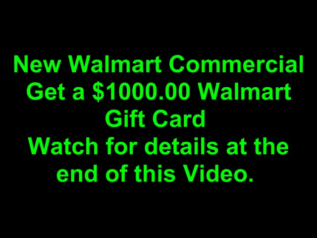 Walmart Funny Clown Commercial New