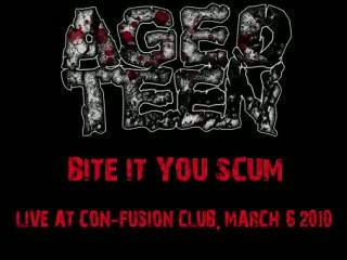AGED TEEN - Bite it you scum (GG Allin cover)