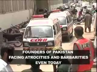 SOS - Karachi is burning - Stop Genocide
