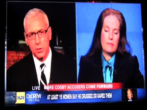 Charlotte Laws on Dr Drew about Bill Cosby, rape, drugging 12/1/2014