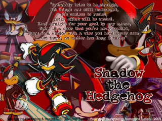 Tribute to shadow