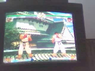 Street fighter parry training