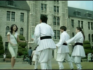 Yoon Eun Hye  green tea