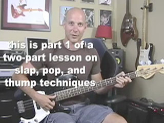 Guitar BASS Lesson Inspired By Red Hot Chili Peppers Flea
