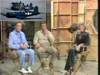 "Interview With Gregory ""Pappy"" Boyington & Robert Conrad - ""Baa Baa Black Sheep"" (21-09-1976)"