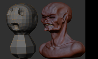 zbrush 3.0 Workflow Series part 2