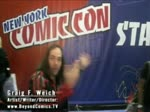 Comic Con 2016 NYCC SDCC New York Comic Con Graig Weich Howard Stern Coco Adrianne Curry