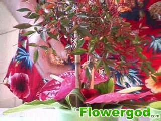 Tropical Bowl Arrangement EP#18