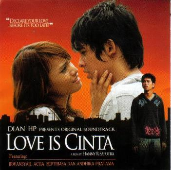 Love Is Cinta CD1