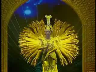 Thousand-hand Boddhisattva Dance (by deaf dancers!)
