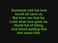 Nickelback Hero Lyrics