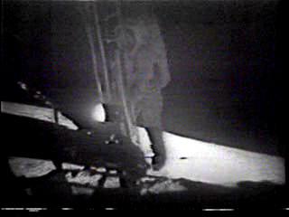 UFO - NASA - Moon Landing - Ladder Jump - with Ghostonaught