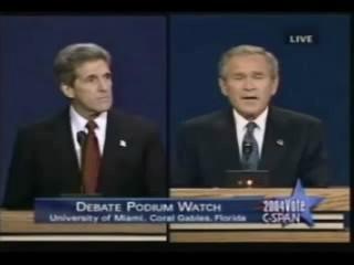 Bush is speechless...as always