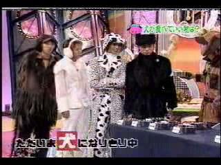 Arashi No Narikiri Baraetei- Inu No Kimochi Ni Natte Mimashita Wan! 2002-01-04 - Sho - Eating