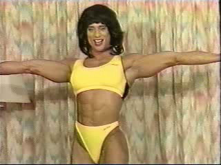 Denise Rutkowski in one wig, but two outfits