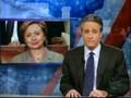 Bush's talk and Hilary Clinton 's reaction