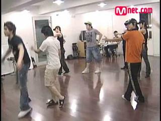 Super Junior - Mnet.com No Cut Story 2007 20s Choice Rehearsal Part1