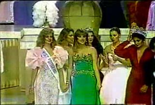 Miss Venezuela: Ganadoras 1980-2006