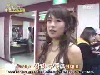 Happy Shares Company Chae Yeon vs. Hwan Hee 8/10 eng.sub
