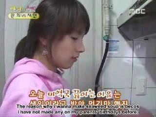 Happy Shares Company Chae Yeon vs. Hwan Hee 9/10 eng.sub