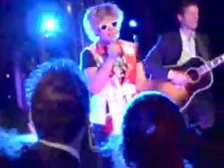 Blondie Graces Tommy Hilfiger Party