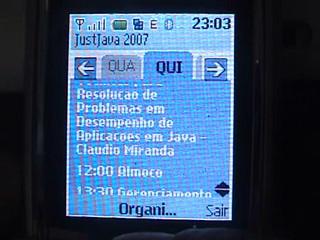 Grade do JustJava 2007 ao alcance de sua mão