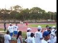 Corriendo en los juegos Atleticos xD