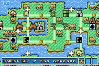 Me playing Super Mario Advance 4: Super Mario Bros. 3