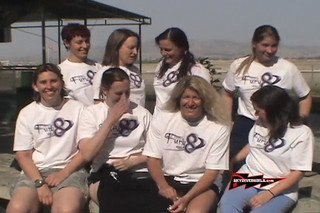 Meet Moxie 8 - All girl competition skydiving team