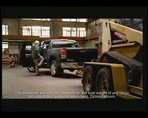 2007 Toyota Tundra Crewmax commercial