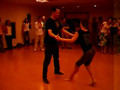 Salsa practica with Chloe & Andy
