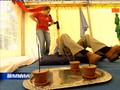 HARALD SCHMIDT - Massieren, Massage im Massagezelt am Weltjugendtag ----->   World Youth Day (WYD) 2005