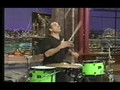 Awesome drum solo juggling drummer Chip Ritter