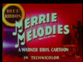 Merrie Melodies: A Tale of Two Kitties