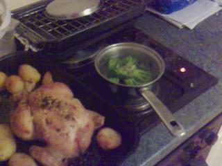 Chicken, but it's a Wednesday Dear.