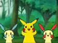 マイナン プラスル ピカチュウ Caramelldansen (Plusle, Minun, Pikachu)