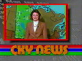 CKY News weather report (April 20, 1986)