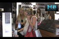 Brittany and Pregnant Cynthia Daniels Shop in Malibu