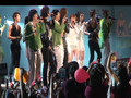 DBSK Hollywood Bowl 2008 - Rising Sun, Tonight, Purple Line, Balloons (fancam)