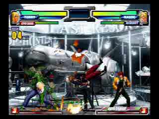 Neo-Geo Battle Coliseum: Terry/Rock Double Team