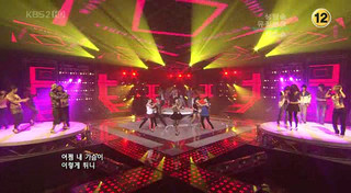 """""""Tell Me"""" on Music Bank 070907"""
