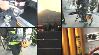 Firefighters from the San Francisco Fire Department on The Battalion-The Series: Webisode #11