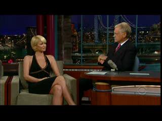 Letterman Interviews Paris Hilton
