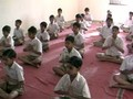 yoga class in India primary school
