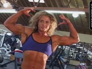 Amanda Savall in Gym