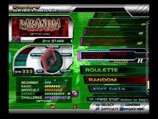 Dance Dance Revolution SuperNOVA2: Paranoia (HADES) (www.rithum.com)