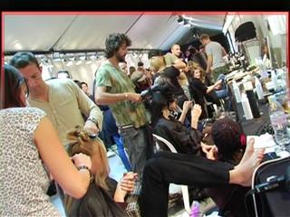 ELLE Fashion Week  Beauty Shot 10/05/07