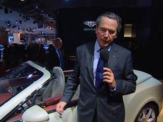 Paris 2006: Interview Franz-Josef Paeffgen (Bentley)
