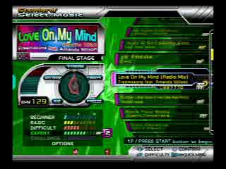 Dance Dance Revolution SuperNOVA2: Love On My Mind (www.rithum.com)